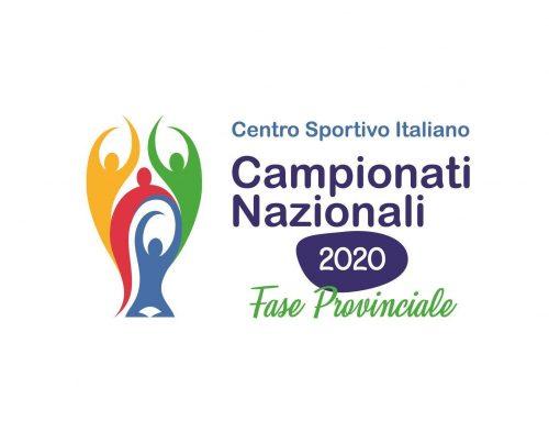 AVVISO DI CONCLUSIONE CAMPIONATI CSI 2019/2020